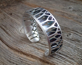 Forest for the Trees sterling cuff