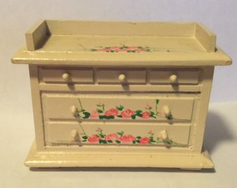 Vintage Miniature Doll House Furniture Dry Sink