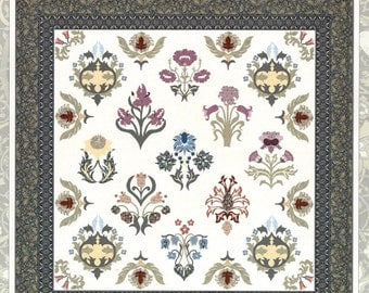 A William Morris Sampler Two Quilt Pattern Michele Hill Applique