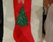 Custom Large Christmas Stocking to match last year's