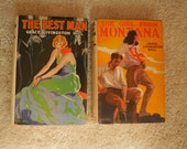 The Best Man and The Girl From Montana and Exit Betty
