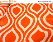 SuperBowl Sale Premier Prints, Emily Tangelo-Slub - home decor fabric, Half  Yard