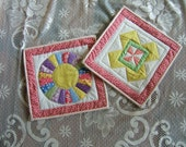 Set of Hot Pads or Pot Holders (Item #89)