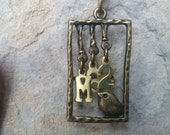 CHRISTIAN NECKLACE, Scripture Necklace, Matthew 6:26, Look at the birds of the air,God's care,Do Not Worry, Protection,Provision,Blessings
