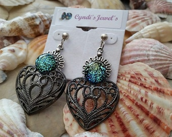 The Colors Over My Heart Earrings