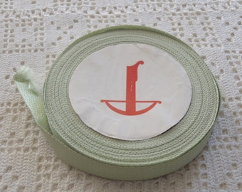 Vintage Trim Green Fabric 10 Yards French