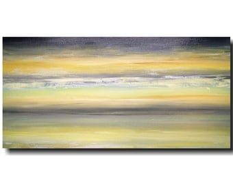 Original Large Abstract painting - 24 X 48-by Artist JMJartstudio-now showing -Wall art -Oil painting -