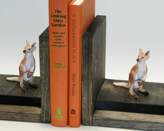 Mother And Baby Gifts Australia : Items similar to kangaroo bookends australia baby