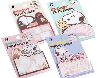 Snoopy Die Cut One Point Sticker / Index / Bookmark / Sticky Memo for scrapbooking, gift message, Bookmark