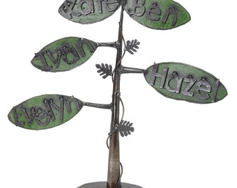 Family Tree Metal Personalized Family Gift Custom Family Tree