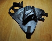 Farscape P.K. Pulse Pistol Holster. 100% genuine leather HOLSTER ONLY. Made to order in USA. replicas,costume, cosplay