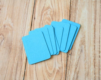50pc AQUAMARINE Blue Eco Series Business Card Blanks