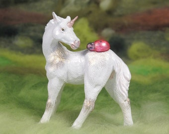 Fantasy Unicorn Foal custom