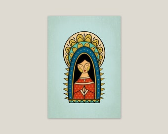Our Lady of Guadalupe - Art Print 5x7