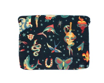 Black Tattoo Art Ipad / Tablet Sleeve