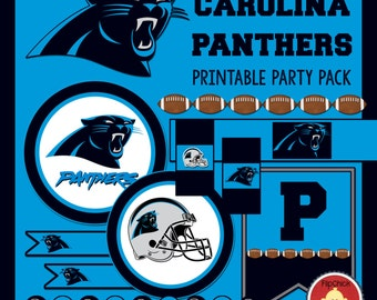 Printable Panthers Party Pack
