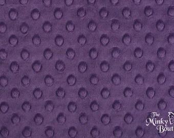 Minky Dot Fabric - Jewel