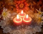 You Pick The Scent, 6 Tealights, Pumpkin Pie Tealights, Fall Tealights, Christmas Tealights, Autumn Magic, Autumn Harvest