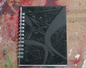 Eiffel Tower - small hand pulled screenprint sketchbook