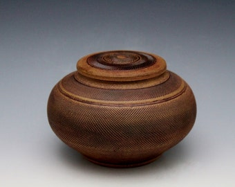 Stoneware Jar Vase with Crocus Martis Wash Inlay Home Decor Handmade by Diann Adams Free Shipping*