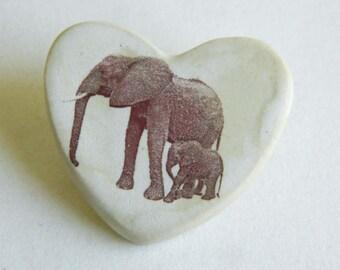 Magnet - Elephant Heart - Emma & Emily