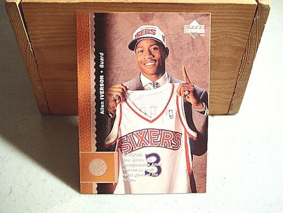 Allen Iverson Basketball Card 76ers' NBA Iverson Card