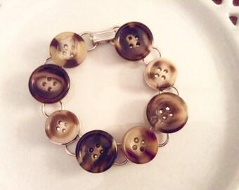 Funky Button Bracelets