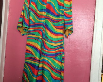 Funky 1970's Psychedelic Jumpsuit