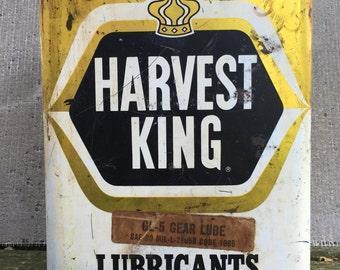 Vintage Harvest King Oil Can