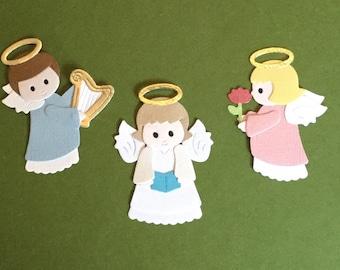 Quickutz Exclusive  Angel Die Cuts - Heavenly