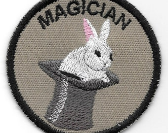 Magician Geek Merit Badge Patch