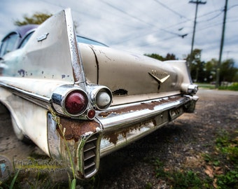 Cool Caddy 1957 Cadillac DeVille Fine Art Photographic Print