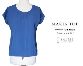 PDF Sewing pattern - Maria top