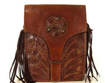 Leather Boho Bag.