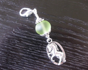Horse Of Course Purse Charm Zipper Pull
