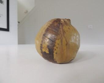 Mid century weed pot studio pottery brutalist