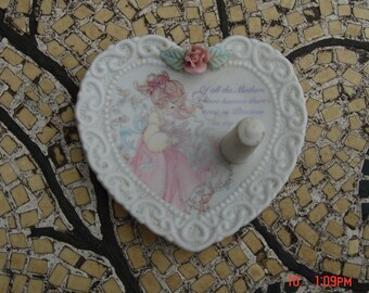 The Enesco Precious Moments Collection Ring/Jewerly holder - Sweet Mother's Day Gift