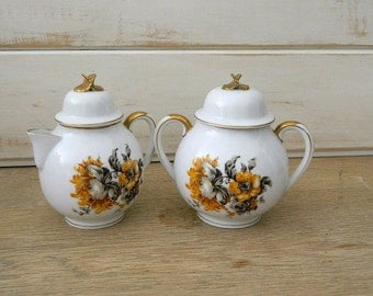 Craftsman China Sugar and Creamer Set - Eggshell Collection - No. 252