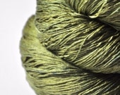 I know what happened to the olive - Silk Lace Yarn
