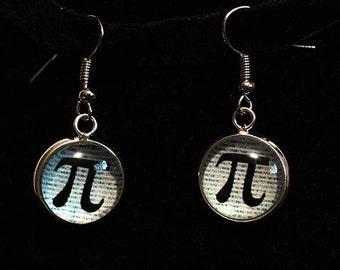 Pi Earrings