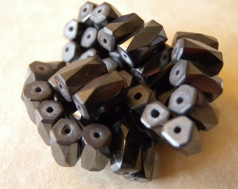 Magnetic Hematite Beads - 41 Piece Destash