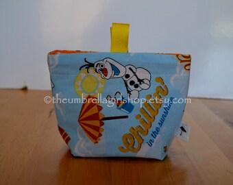 READY TO SHIP Olaf Medium Snack Bag