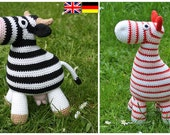 2 PATTERN! Amigurumi Horse and Cow - crochet pattern, PDF
