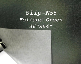 Slip Not  Foliage Green Fabric