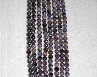 Amethyst, Cape Amethyst, Faceted Bead, Amethyst Bead, Semi Precious, Gemstone Bead, Natural Stone, Natural Amethyst, Sparkle, Full Strand,8m