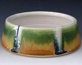 MEDIUM DOG BOWL #4 - Ceramic Dog Bowl - Ceramic Dog Dish - Pet Bowl - Pet Feeder - Water Bowl - Handmade Dog Bowl - Studio Pottery