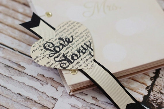 Wedding favor - party favor - bridal shower favors - bookmarks - love story - ever after - jane austen - anne of green gables - personalized
