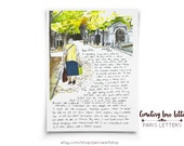 Cemetery Love: Paris Letter, July, A letter about a woman I met in the cemetery of Paris who told me of her lifelong love affair