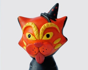 Custom Vinyl Figure - Halloween Cat