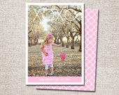 Valentine card, Photo Valentine card, Valentines, Modern Valentine cards, Printable Valentine cards, Kids Valentine cards (xoxo)